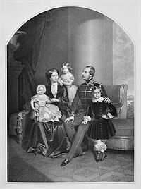 George V of Hanover and family