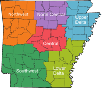 Arkansas Regions Colored With Names.png