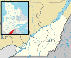 La Prairie is located in Southern Quebec