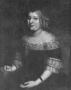 Painting of Marie de Bourbon, Dowager Princess of Carignano in circa 1650 by an unknown artist.png
