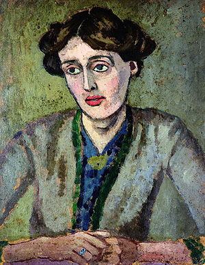Portrait of Woolf in 1917 by Roger Fry