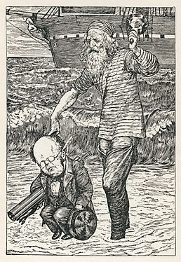 Lewis Carroll - Henry Holiday - Hunting of the Snark - Plate 1.jpg