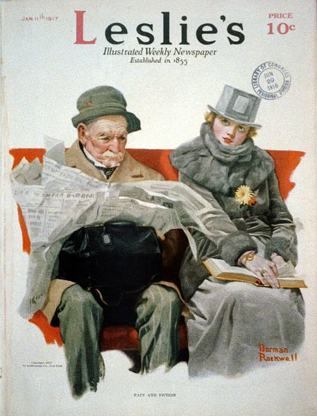 File:Fact & Fiction by Norman Rockwell 1917.jpg