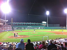 Jet Blue Park at Fenway South from a Yankees vs. Red Sox spring training game