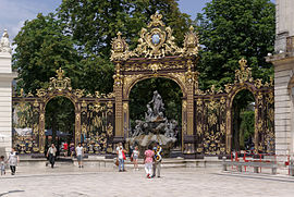 Place Stanislas – Fountain of Amphitrite