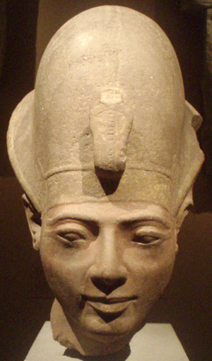 Head from a statue of Amenmesse, Metropolitan Museum of Art