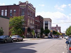 West Center Street in downtown Marion in 2007.