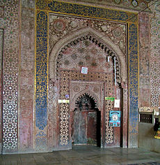 Elaborate late stage Islamic woodwork
