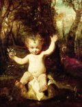 "Joshua Reynolds's ""Puck"" was painted for Boydell's Shakespeare Gallery"