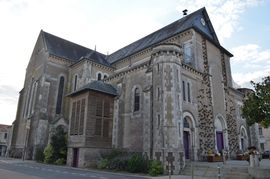 The church of Saint-Julien, in Saint-Julien-de-Concelles