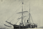 Karluk, caught in the Arctic ice, August 1913