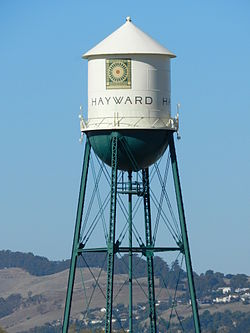 Historic Hunt's Cannery water tower[1][2]