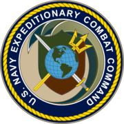 Seal of the United States Navy Expeditionary Combat Command.png