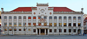 City hall of Zwickau