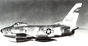 13th Fighter-Interceptor Squadron North American F-86D-35-NA Sabre 51-8437.jpg