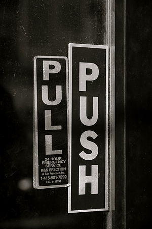 Door with both push and pull signs.jpg