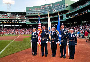 102d Intelligence Wing Honor Guard at Fenway Park.jpg