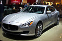 Geneva MotorShow 2013 - Maserati Quattroporte grey front right view.jpg