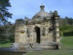 Conduit House, Cascade and adjoining statues