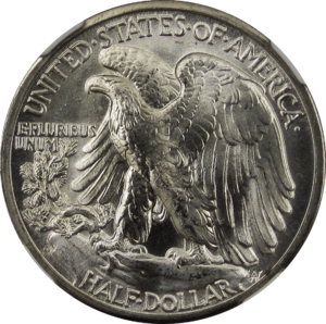 Walking Liberty Half Dollar 1945D Reverse.png