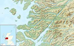 Canna is located in Lochaber