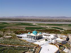 The Shrine of Baba Wali in the Arghandab district.