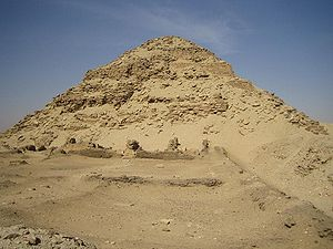 Pyramid of Neferirkare at Abusir