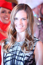 A photo of Hilary Swank at the 2013 Life Ball