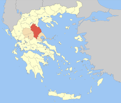 Larissa within Greece