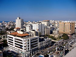 Skyline of Gaza, 2007