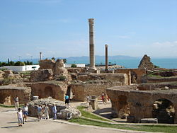 Thermes of Antoninus Pius at Carthage