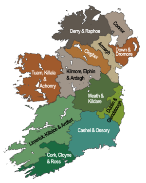 Dioceses of the Church of Ireland