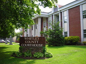 Whitley County, Kentucky Courthouse.JPG