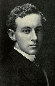 Head shot of a young-looking DeMille