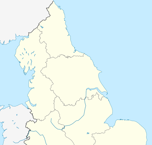 2015–16 Northern Counties East Football League is located in Northern England