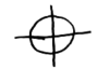 Crosshair-like symbol used by Zodiac Killer in signing correspondence