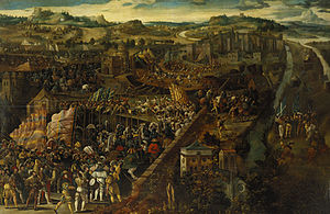 Battle of Pavia, oil on panel.jpg