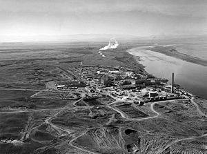 Aerial shot of Hanford