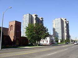 Sheppard Avenue East in Agincourt