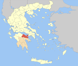 Corinthia within Greece