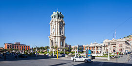 Pachuca Monument Clock Tower