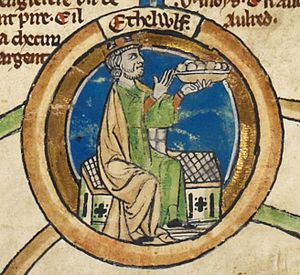 Æthelwulf in the Roll of the Kings of England