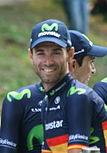 A photograph of Alejandro Valverde.