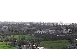 Skyline of Deir al-Balah, 2008