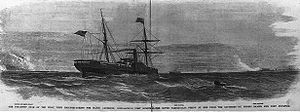 Steamship Star of the West, with reinforcements for Major Anderson, approaching Fort Sumter.jpg