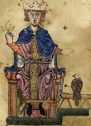 Frederick II and eagle.jpg