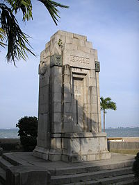 Cenotaph for those who fell in World War I, in George Town