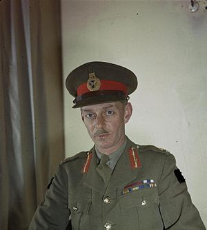 Lieutenant General M C Dempsey, Cb, Dso, Mc, Commander in Chief, British Second Army, April 1944 TR1654.jpg
