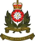 Cap Badge of the Intelligence Corps