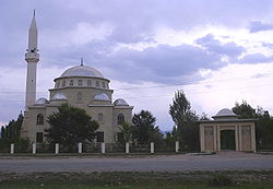 A mosque in Naryn